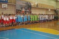 Открытие первого междугородного турнира по баскетболу