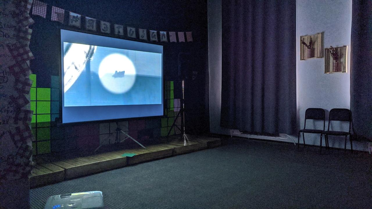 Воскресный кинопоказ в Зале ожидания