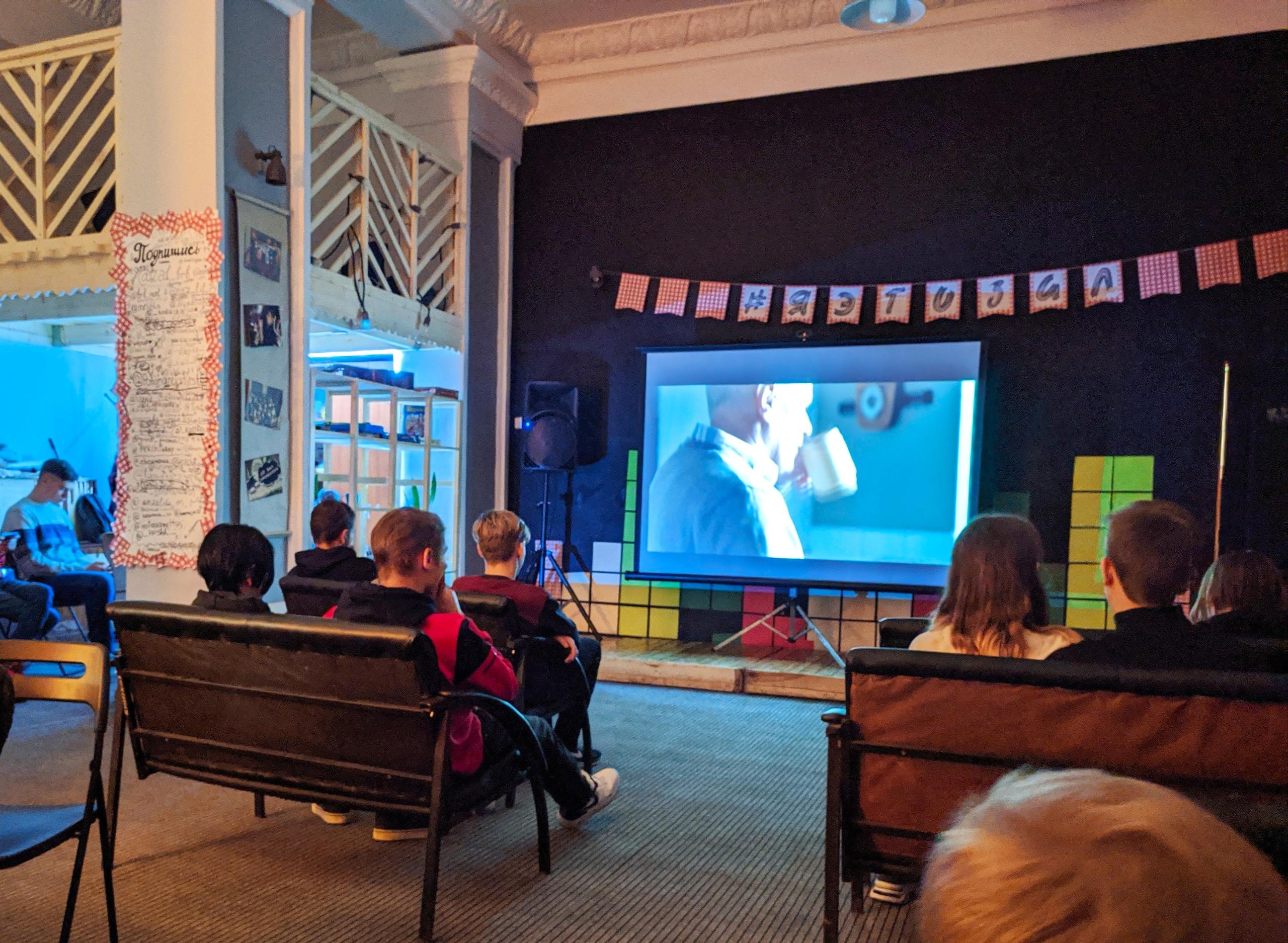 Социальное кино в Зале ожидания