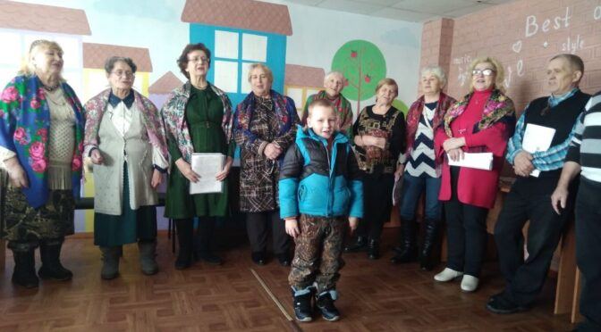 Песни хора ветеранов «Судьба» на Халтурина